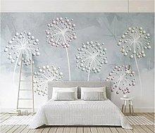 Blovsmile 3D Large Mural Wallpaper for Living Room