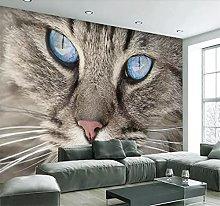 Blovsmile Custom 3D Photo Wallpaper for Walls Cat