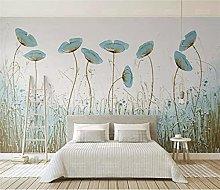 Blovsmile Flower Wall Wallpaper for Home Interior