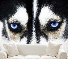 Blovsmile Wolf Head Mural 3D Wall Art Animal