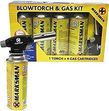 Blow Torch Butane Gas KIT FLAMETHROWER Welding
