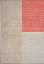 Blox Pink & Cream Wool Rug 160x230cm