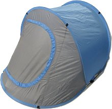 Blue 2 Man Pop Up Tent - Polyester 2 Person
