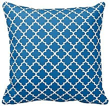 Blue and White Decorative Cushion Covers Throw