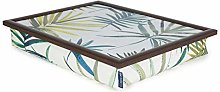 Blue Badge Co Leaf Print Lap Tray TV Dinner Bean