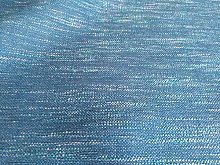 Blue Boucle Weave Fire Retardant Upholstery Fabric