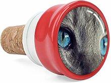 Blue Cat Eye Wine Cork Wine Bottle Stoppers