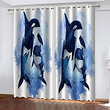Blue Dolphin Thermal Blackout Curtain 234 (W) x