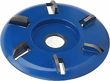 Blue Easy to Operate Wood Carving Blade, Angle