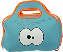 BLUE Insulated Neoprene Lunch bag by FRUITFRIENDS.