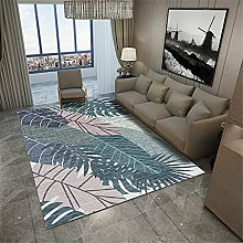 blue Large Rugs For Living Room High-end creative