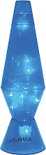 Blue LED Twinkle Lava Lamp.