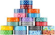 Blue Lemon Crafts Patterned Washi Tape Set