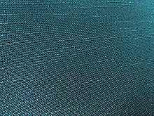Blue Linen Look Upholstery Fabric by The Metre