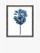 Blue Palm Tree 3 - Framed Print & Mount, 66 x