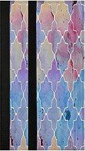 Blue Purple Moroccan Refrigerator Door Handle