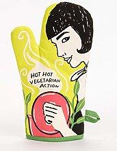 Blue Q Hot Hot Vegetarian Action Oven Glove Mi