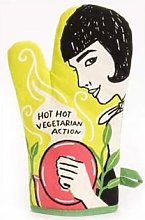Blue Q - Hot, Hot Vegetarian Action Oven Glove
