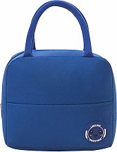 Blue Reusable Insulated Lunch Bags for Women,Lunch