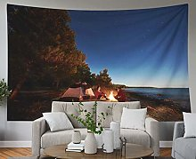 Blue Tapestries,Hanging Wall Tapestry for Décor