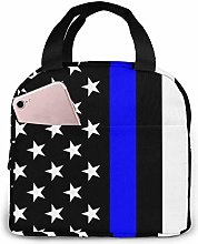 Blue Thin Line Us Flag Blue Thin Line Us Flag