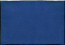 Blue waterproof cleaning cloth, medium size