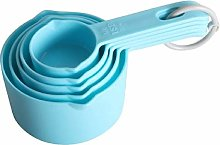 Blue Yellow Color Measuring Cups Measuring Spoon