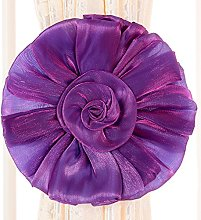 Bluelans® 2 x Lovely Rose Flower Curtain Tie