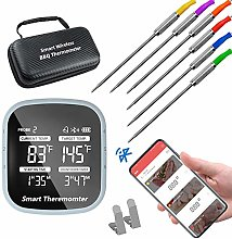Bluetooth Meat Thermometer, Smart APP Control