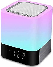 Bluetooth Speaker 5 in 1 Night Light, Touch Sensor