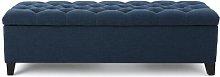 Bluffridge Upholstered Storage Bench Three Posts