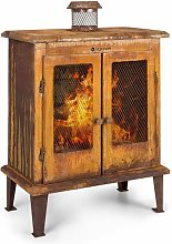 Blumfeldt - Flame Locker Fireplace Vintage Garden