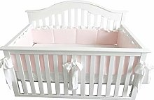 Blush Coral Pink Ruffle Crib Bedding Set Baby Girl