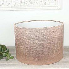 Blush Pink Alchemy Drum Lampshade (25 cm Diameter