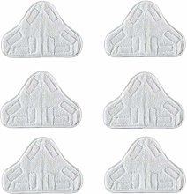 Bluwhale 6 Pack Washable Microfibre Steam Mop Pads