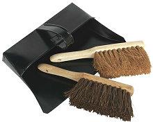BM26 Metal Dustpan & Brushes - Sealey