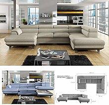 BMF Phoenix XL Large U-Shape Storage Corner Sofa |