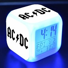 BMSYTY 2018 AC/DC Cool Picture Alarm Clock Color