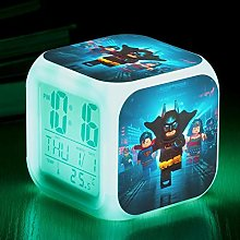BMSYTY Alarm clock children cool digital clock Led