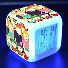BMSYTY Children alarm clock LED light 7 color
