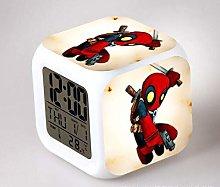 BMSYTY Digital alarm clock children's LED