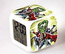 BMSYTY LED alarm clock cartoon digital alarm clock