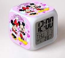 BMSYTY New cartoon alarm clock cartoon children