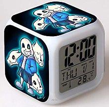 BMSYTY Square Digital Clock Watch/Desk Projection