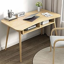 BNMKL Computer Desk 100X60x72cm, Desk with Storage