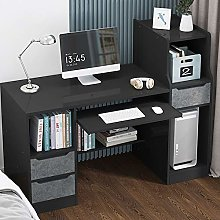 BNMKL Computer Desk 120X40x100cm Sturdy Office