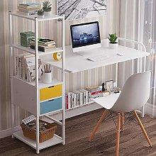 BNMKL Computer Desk, Workstation with Tier