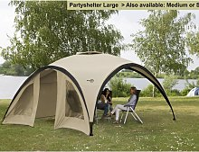 Bo-Camp Party Shelter Small Beige