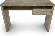 Bo Living - Somona Oak and White Sofi Desk with