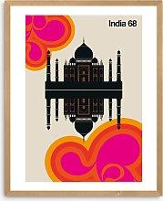 Bo Lundberg - 'India 68' Framed Print, 52